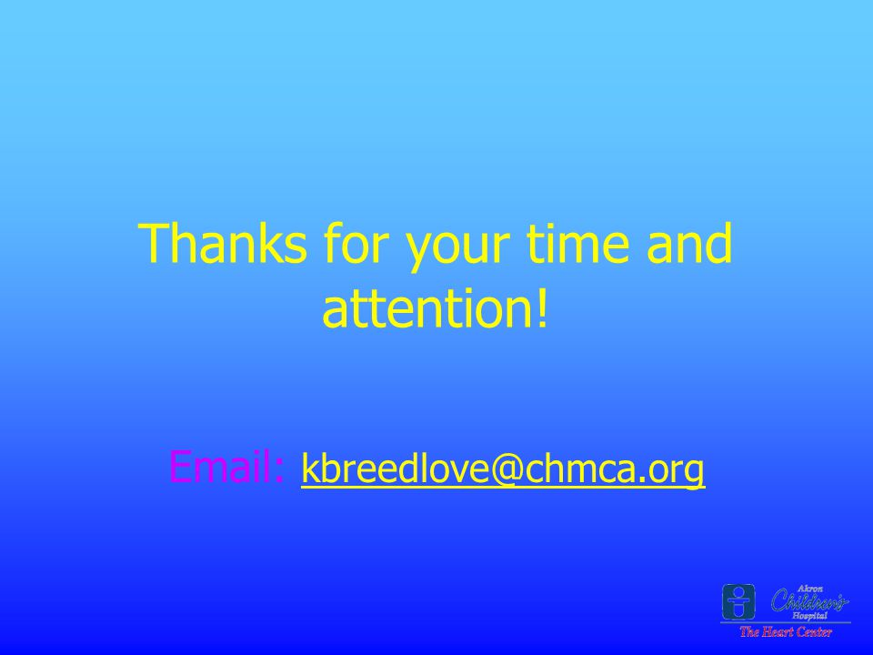 Thanks for your time and attention!