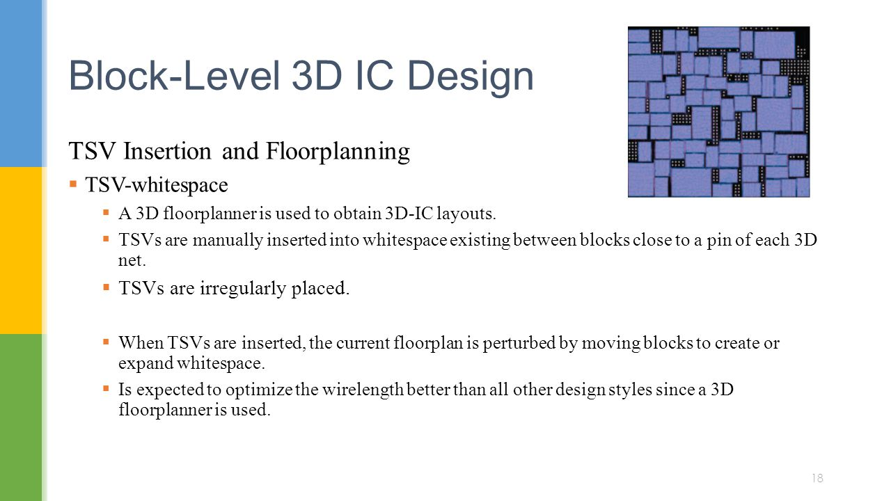 Block-Level 3D IC Design