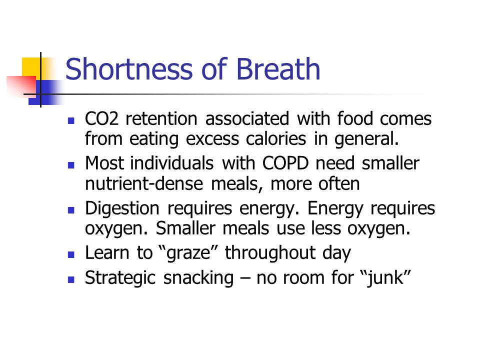 Nutrition and COPD All Things Considered  - ppt video online download