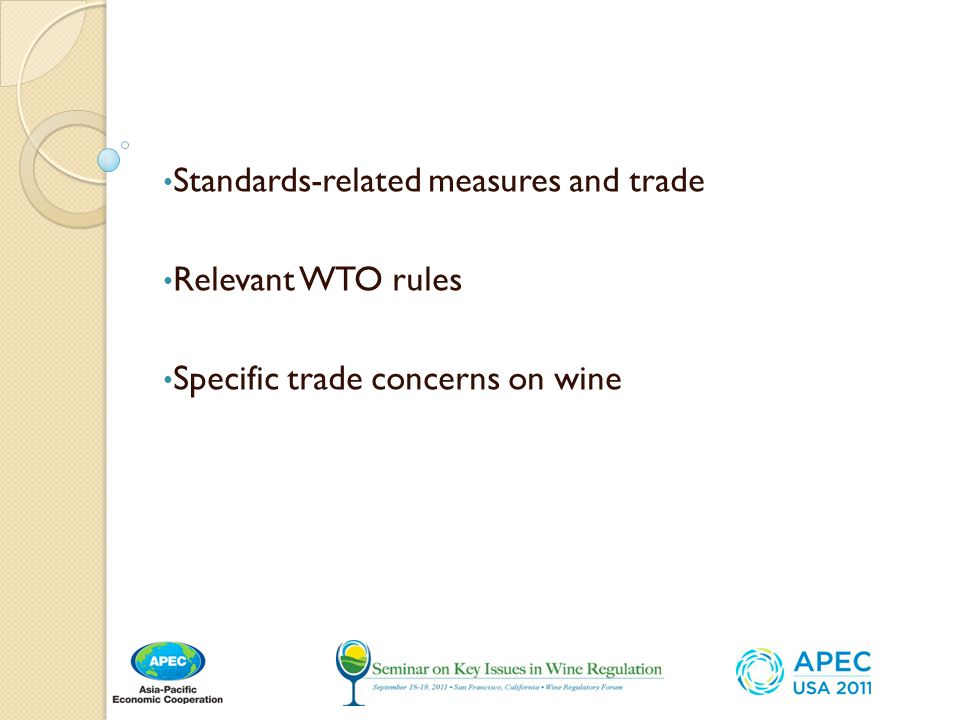 Standards-related measures and trade