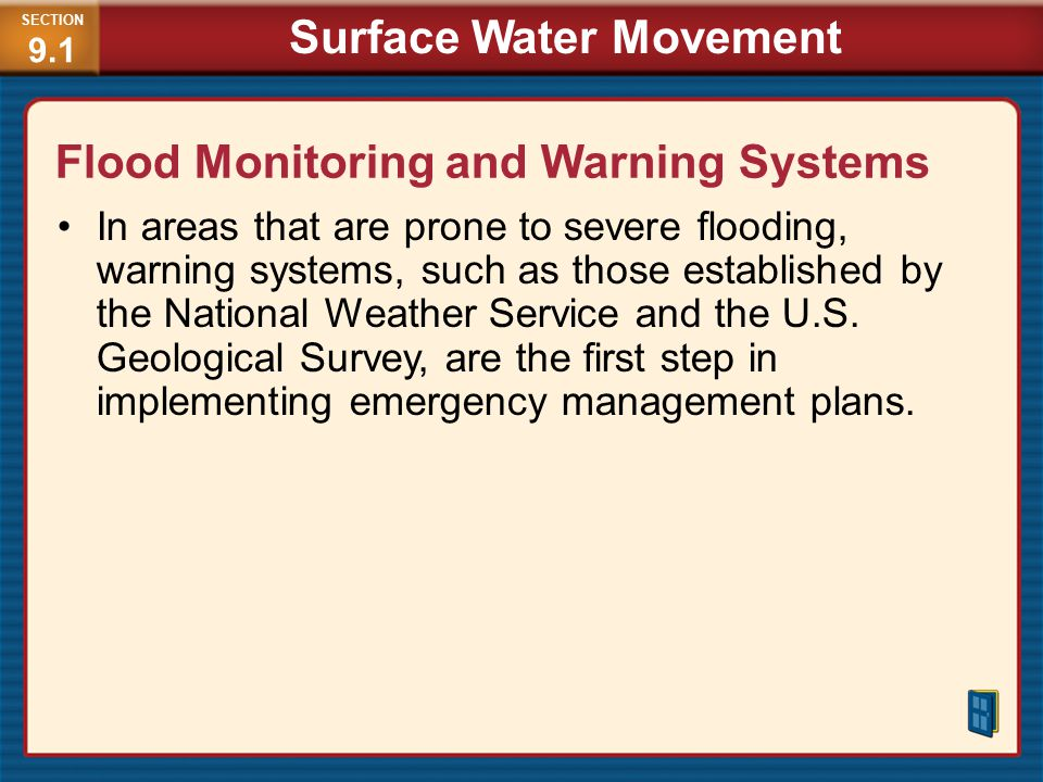 Flood Monitoring and Warning Systems