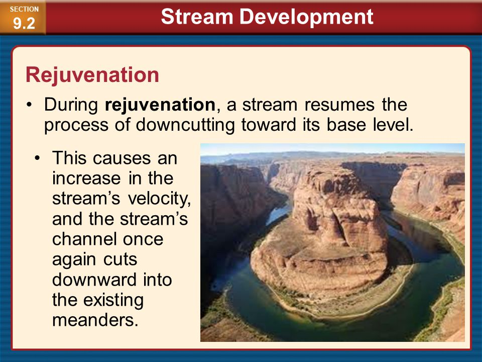 Stream Development Rejuvenation