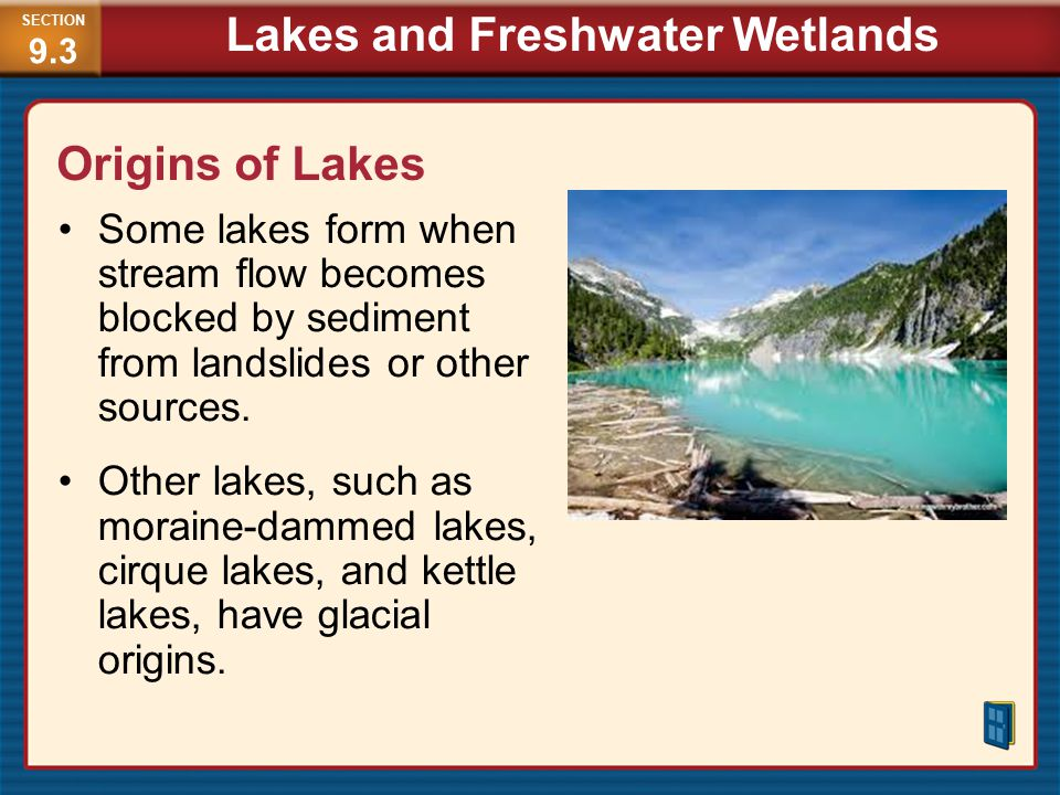 Lakes and Freshwater Wetlands