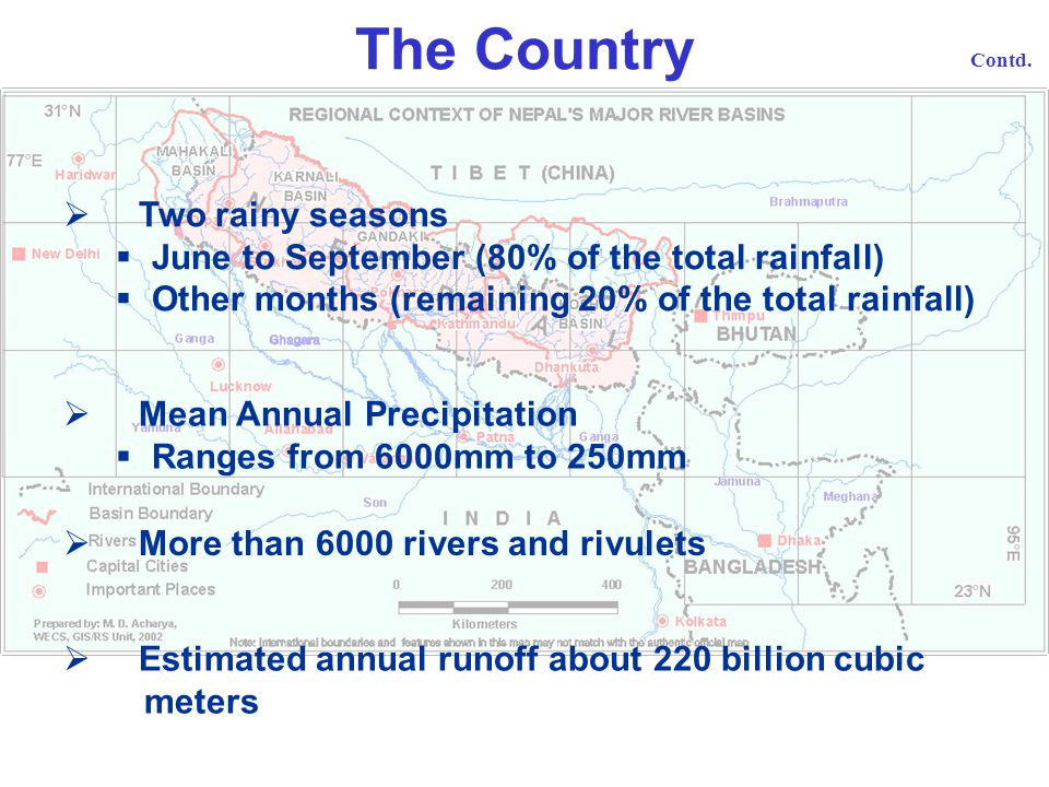 The Country Two rainy seasons