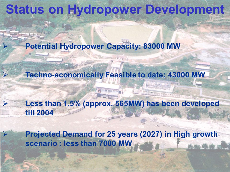 Status on Hydropower Development