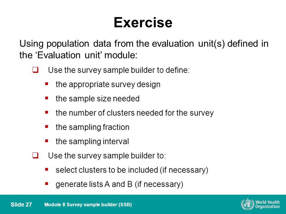 Module 8 Survey sample builder - ppt video online download