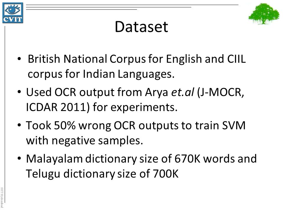 Word Recognition of Indic Scripts - ppt video online download
