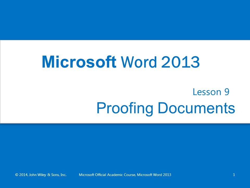 microsoft official academic course microsoft word ppt download