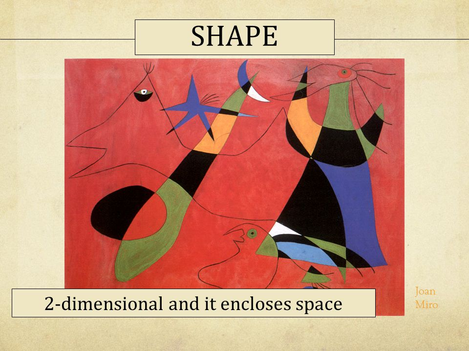 2-dimensional and it encloses space