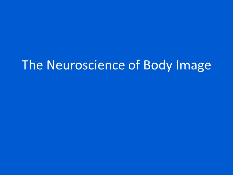 The Neuroscience of Body Image