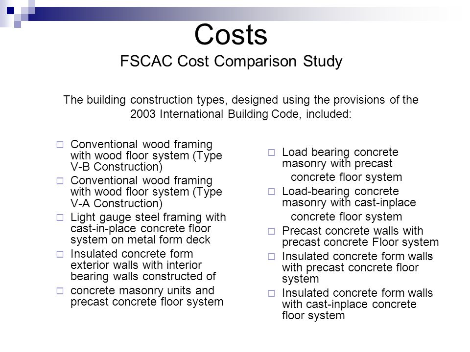 Balanced Code Provisions for Residential Structures - ppt download