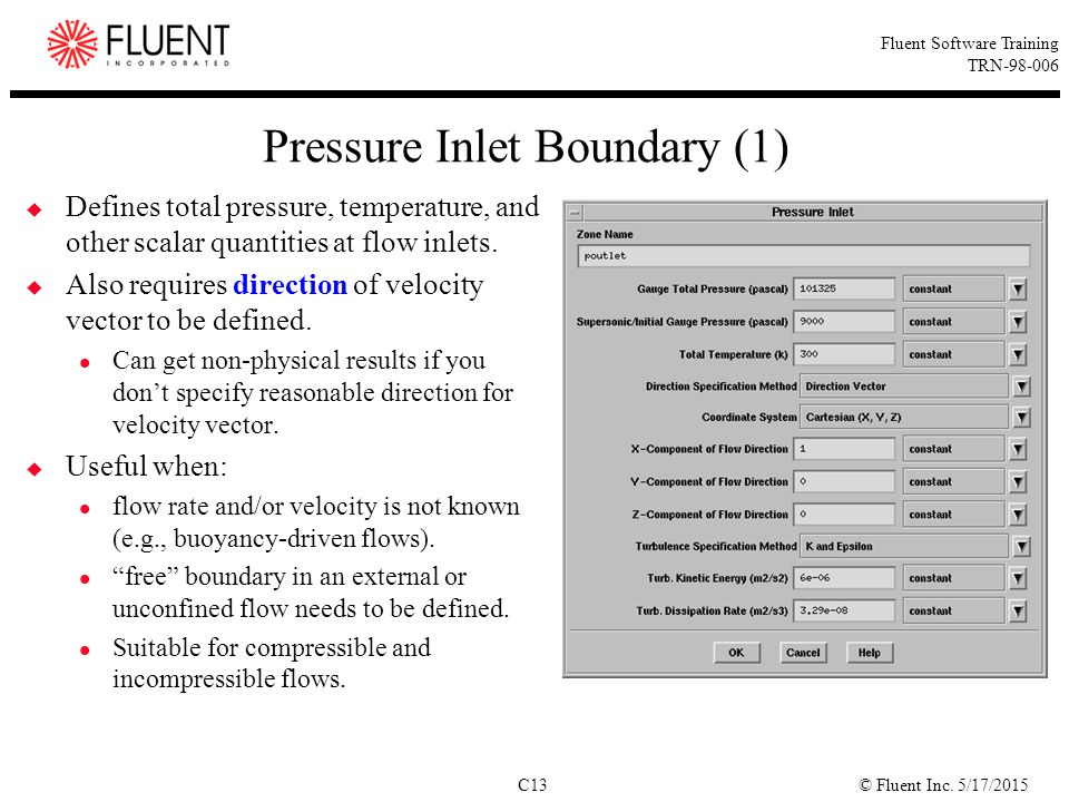 Pressure Inlet Boundary (1)