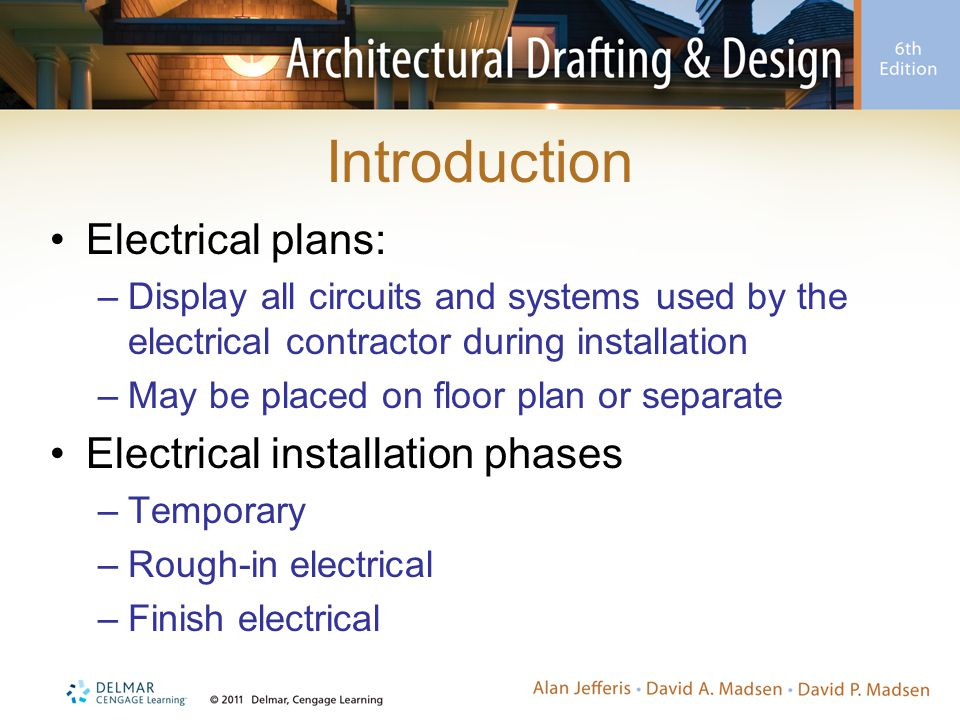 Chapter 19 Electrical Plans. - ppt download