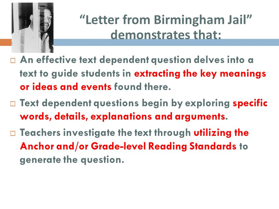 letter from birmingham jail questions inspirational letter from birmingham questions 37881