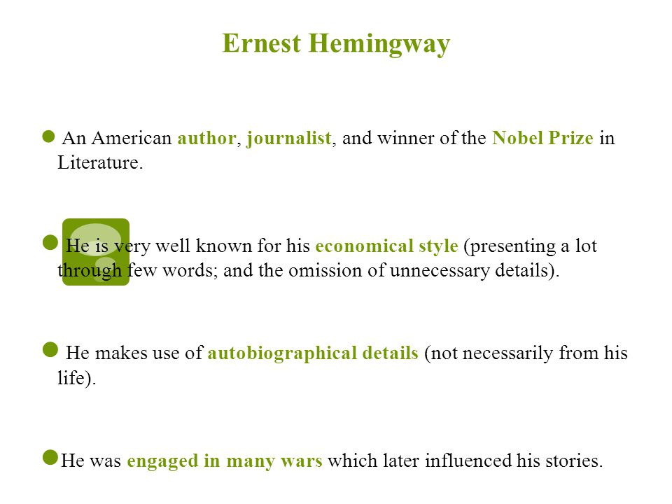 Cat In The Rain By Ernest Hemingway Ppt Video Online Download