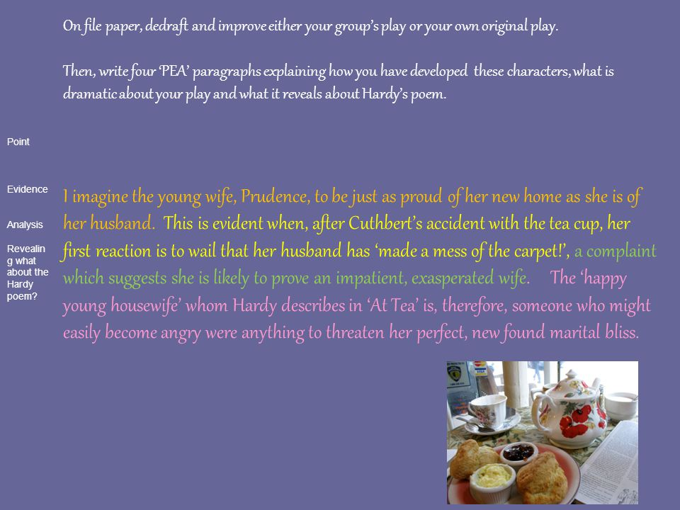 the young housewife poem analysis