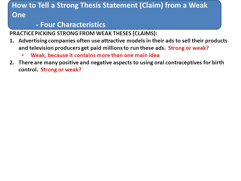 how to write a thesis statement step by step