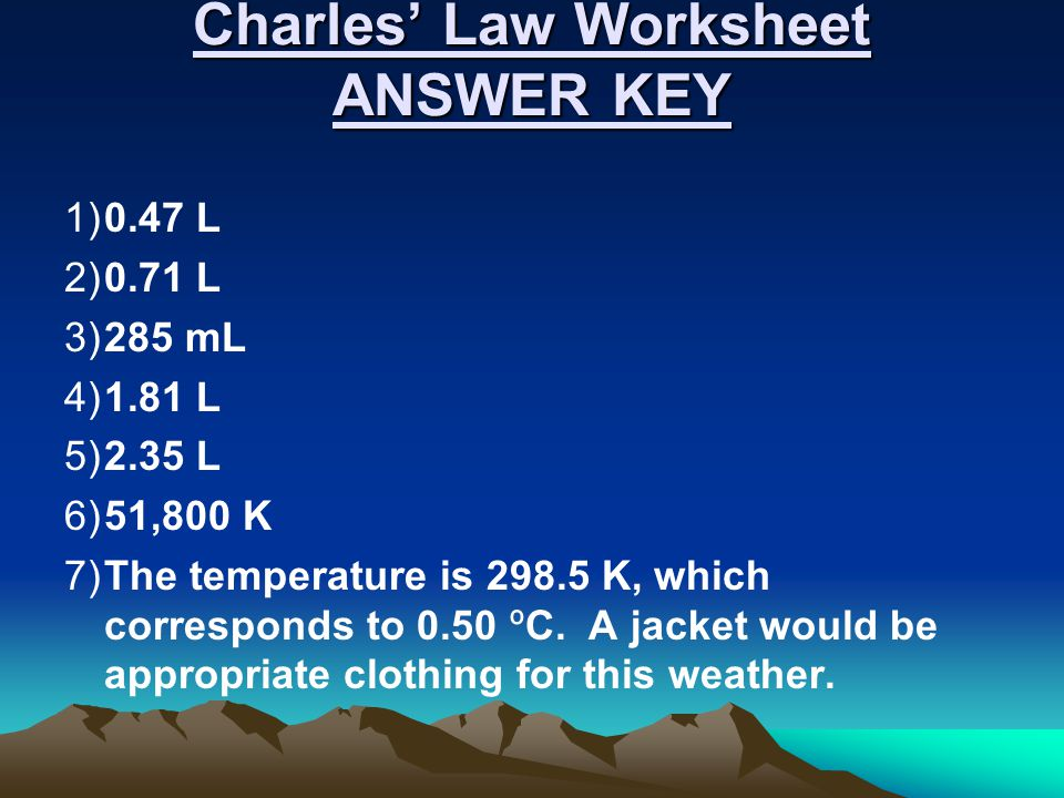 Gas Laws Review Ppt Video Online Download