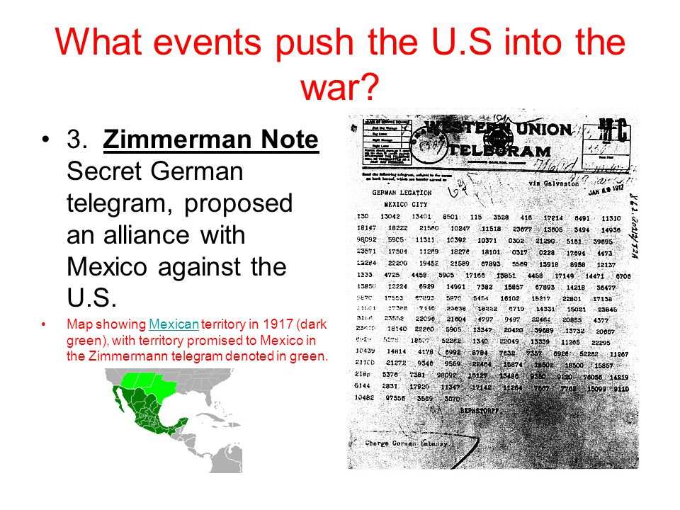 World War I Usii 5c United States Involvement In Wwi Ended A Long