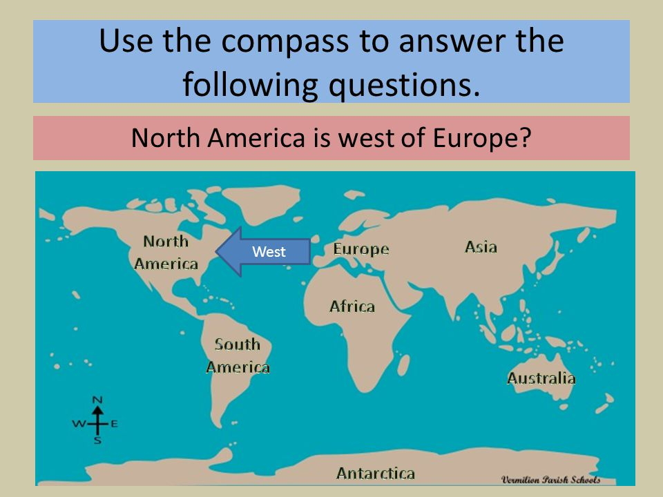 Map Of The World With Compass.Map Skills Compass Rose Ppt Download