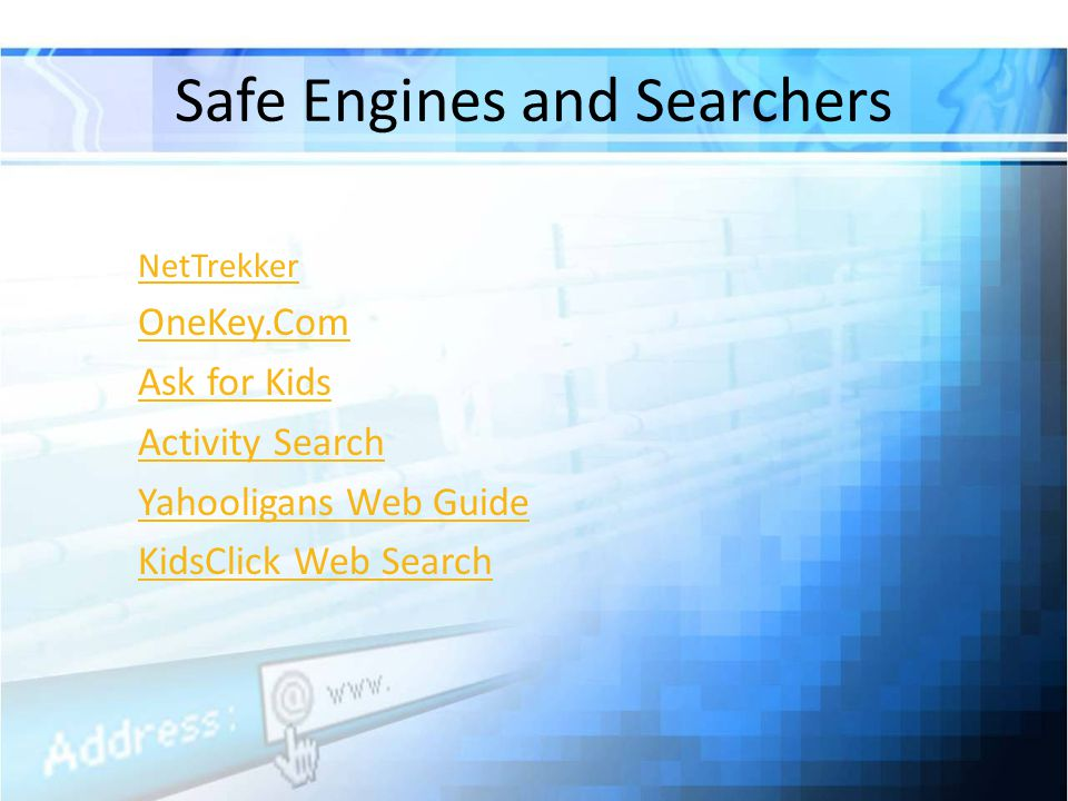 Safe Engines and Searchers