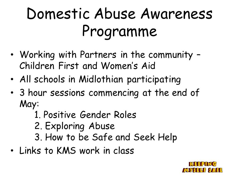 Domestic Abuse Awareness Programme
