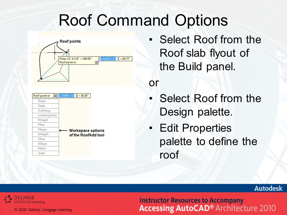 Creating Roofs and Roof Slabs - ppt video online download