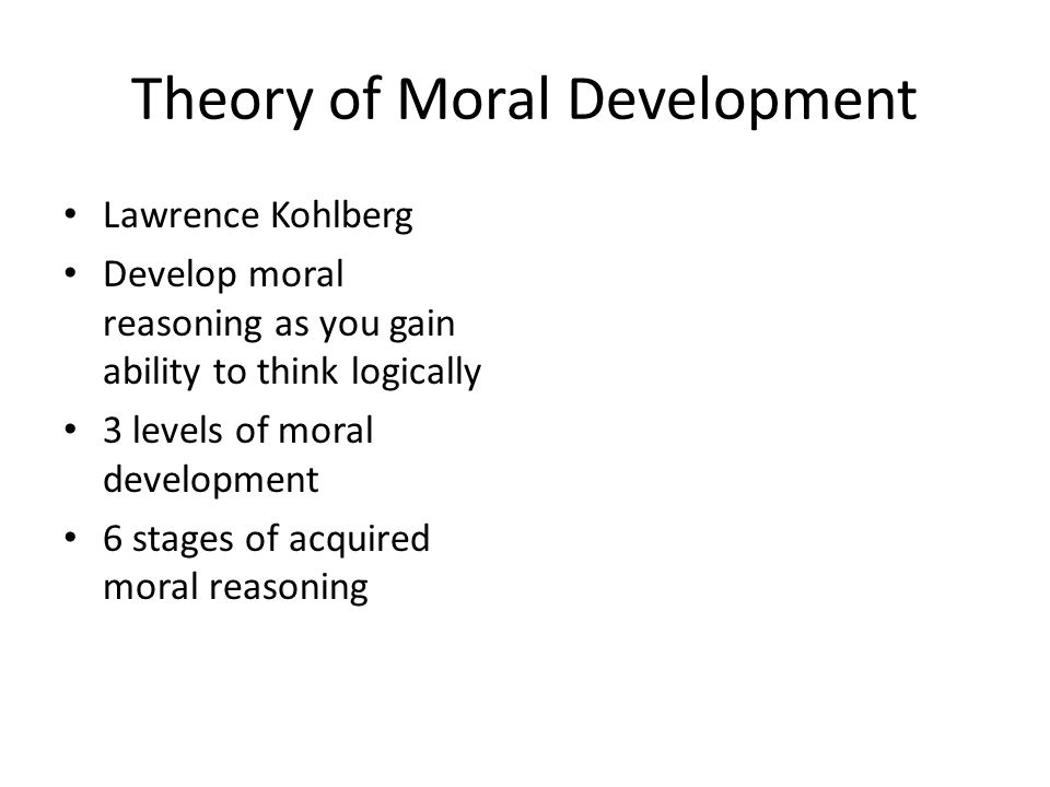 an essay on kohlbergs theory on moral development in children Moral development - lawrence kohlberg essays: over 180,000 moral development - lawrence kohlberg essays, moral development - lawrence kohlberg term papers, moral development - lawrence kohlberg research paper, book reports 184 990 essays, term and research papers available for unlimited access.