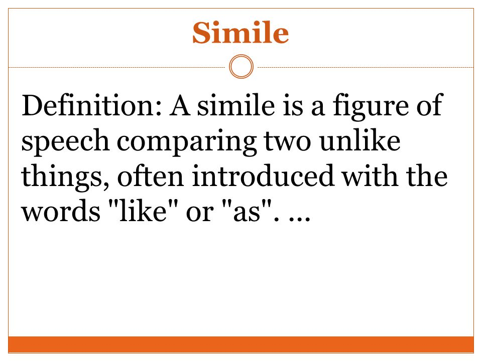 Definition And Example Of Simile Images Example Cover Letter For