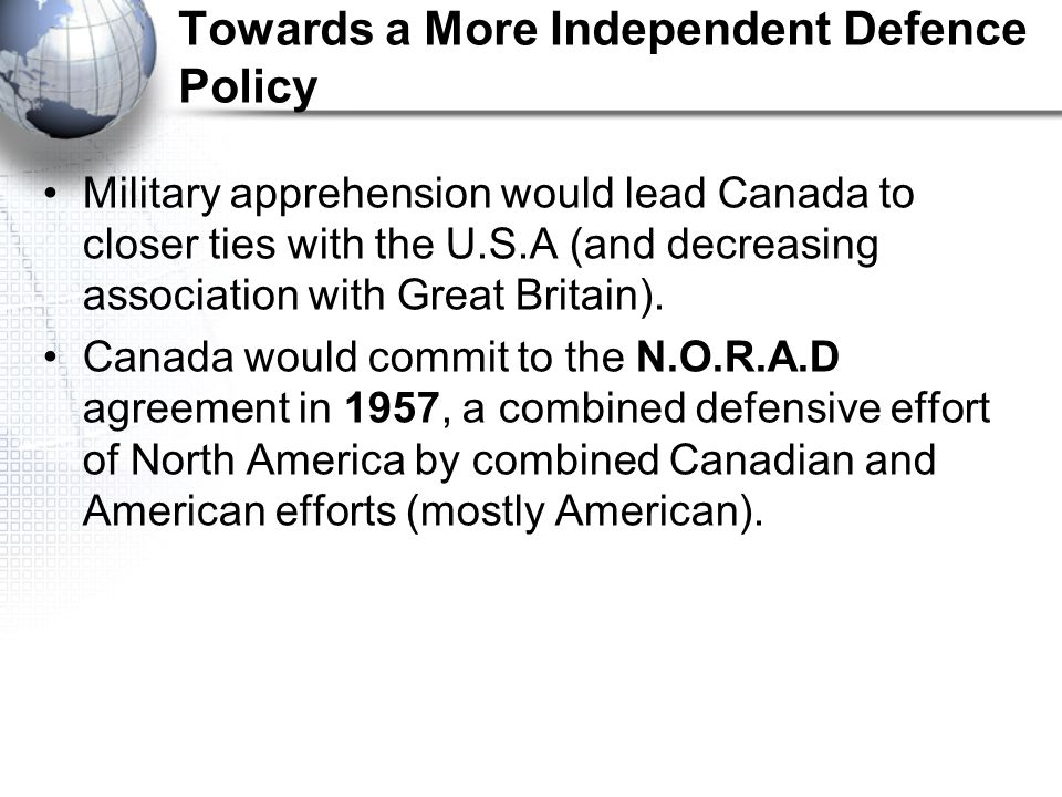 Social Studies 11 Canada In The Post War World Ppt Video Online