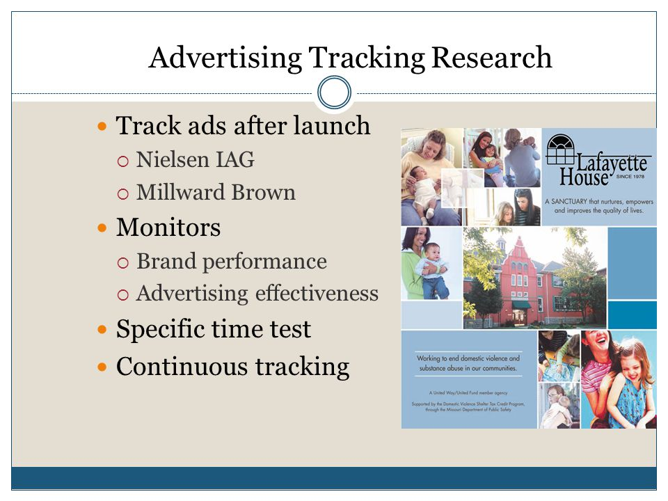 Advertising Tracking Research