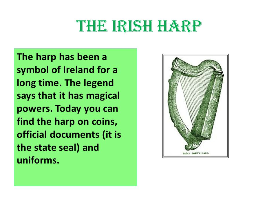A Look At Some Irish Symbols And Their Meanings Ppt Video Online