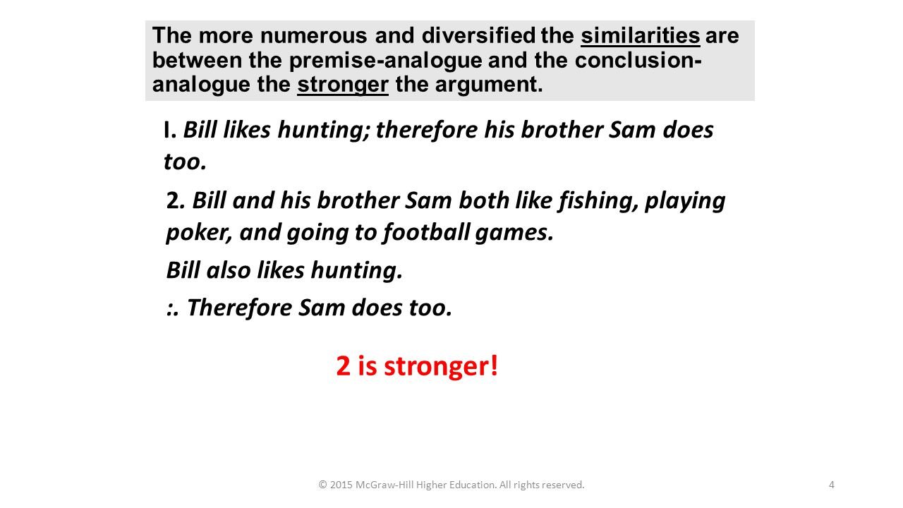 Chapter 11 Inductive Reasoning Arguments From Analogy Ppt Video