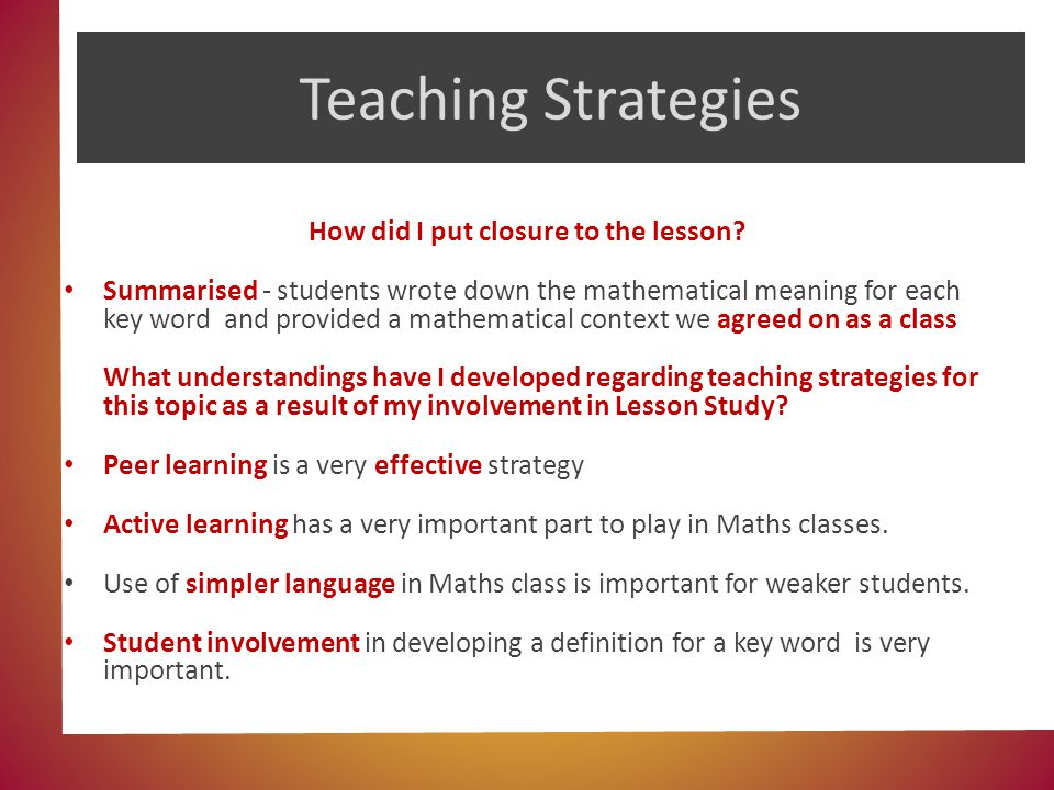 Maths Counts Insights Into Lesson Study Ppt Video Online Download