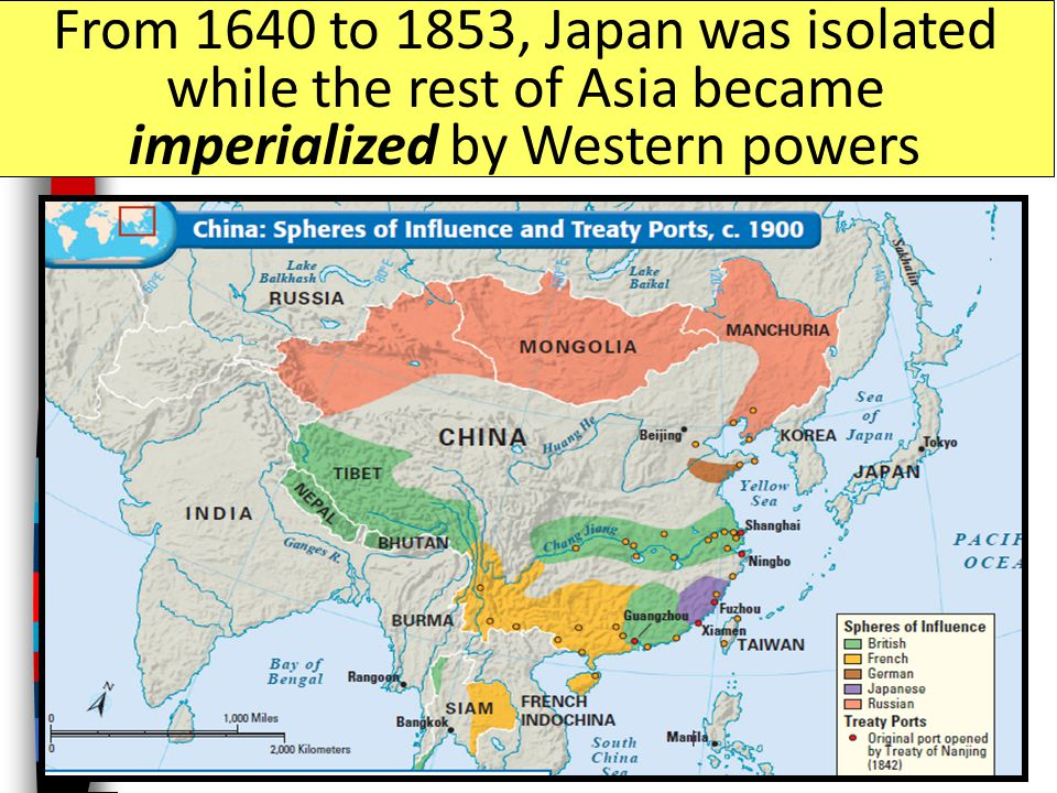Imperialism in japan ppt video online download 27 from 1640 to 1853 japan was isolated while the rest of asia became imperialized by western powers gumiabroncs Images
