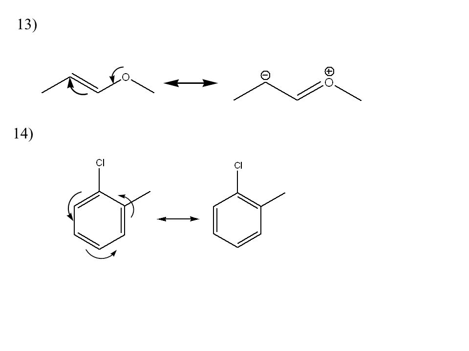 how to draw a resonance structure