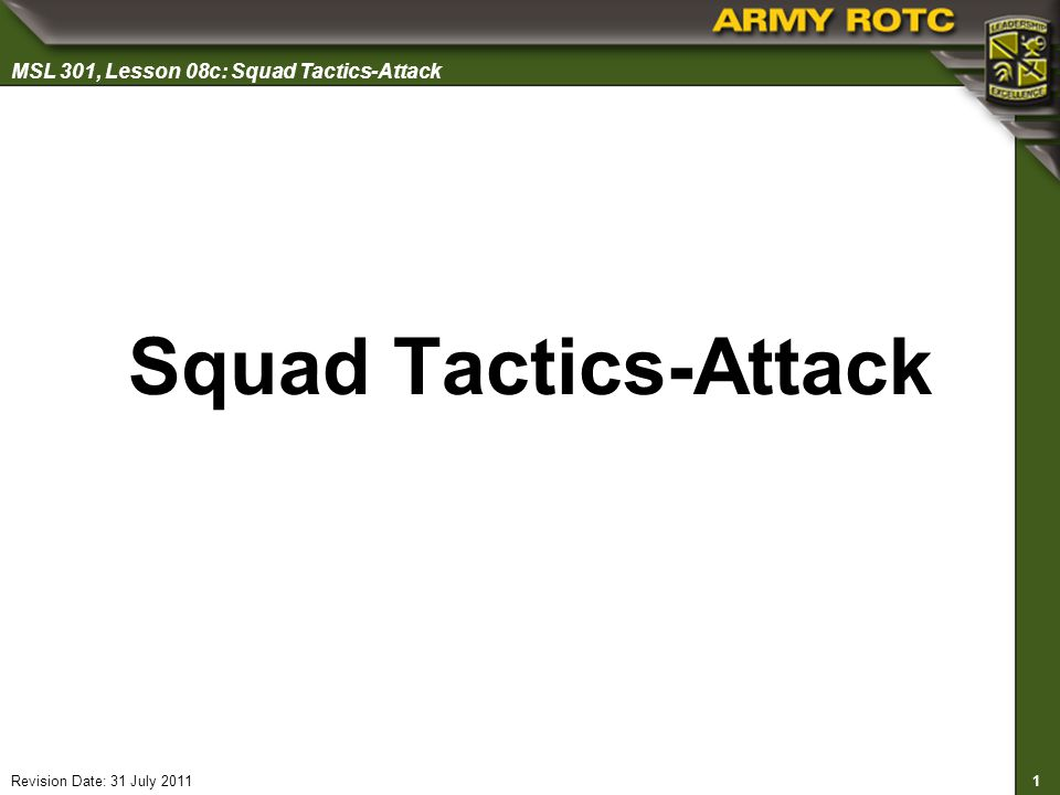 Squad Tactics-Attack