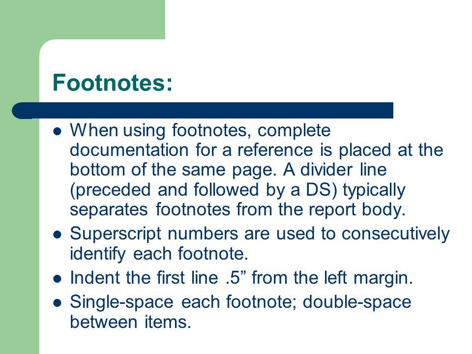 Footnotes: