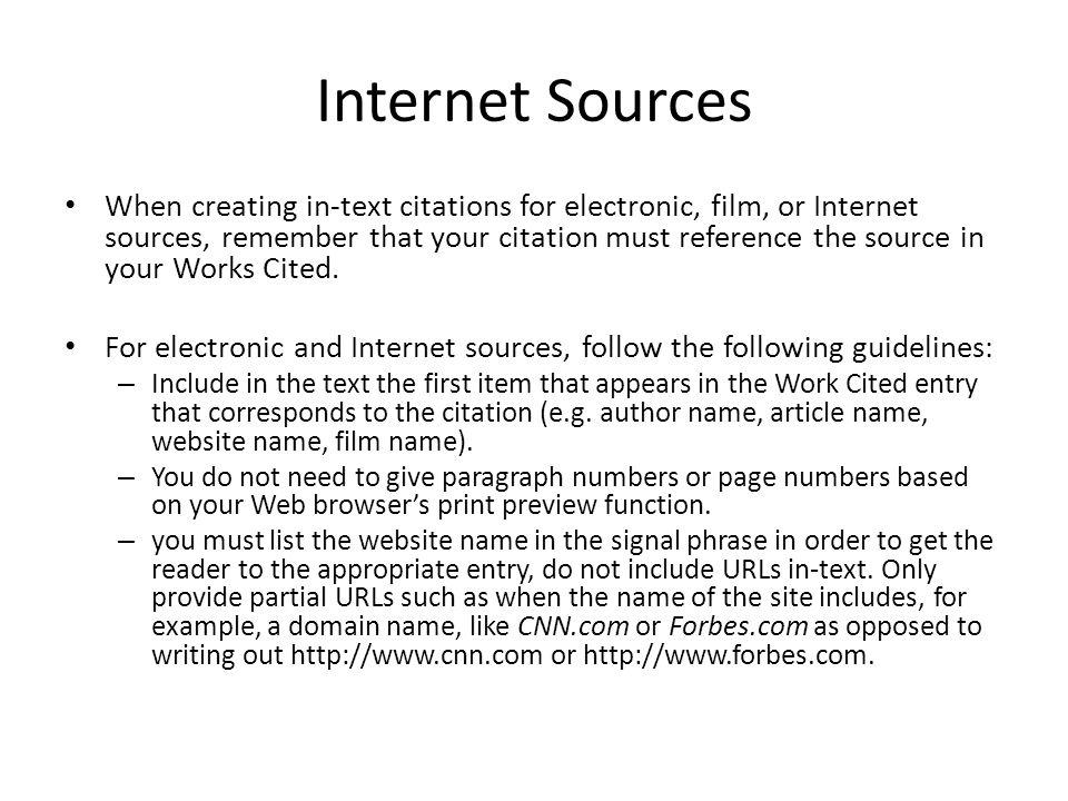 in text citation film mla 8