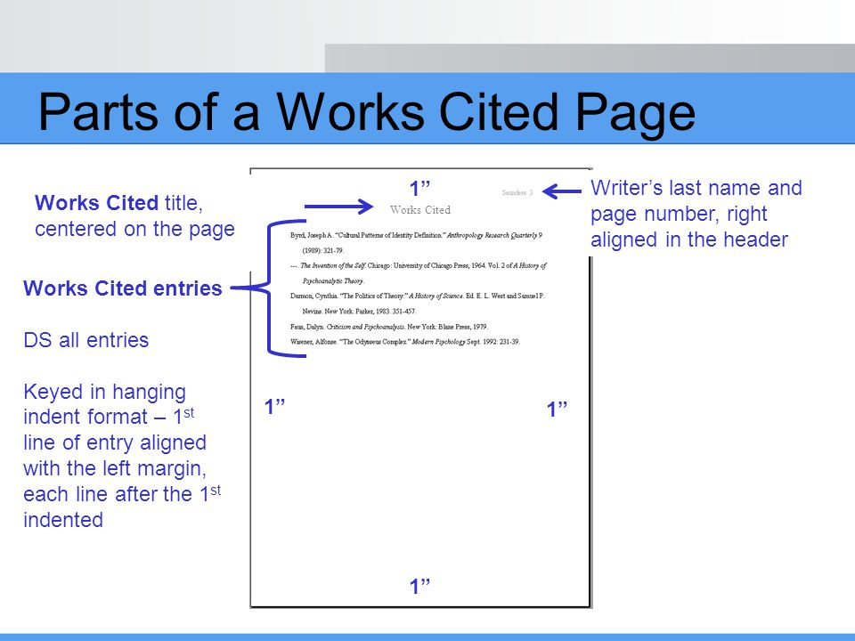 how do you indent for works cited  mla works cited  develop an mla works cited page   2019