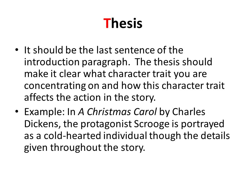 How To Write Science Essay  Thesis  My Country Sri Lanka Essay English also My English Class Essay Character Analysis Essay  Ppt Video Online Download English As A Second Language Essay