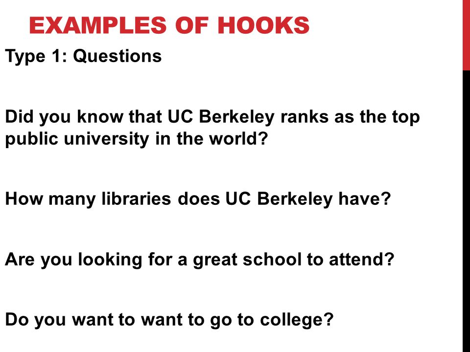 hook questions