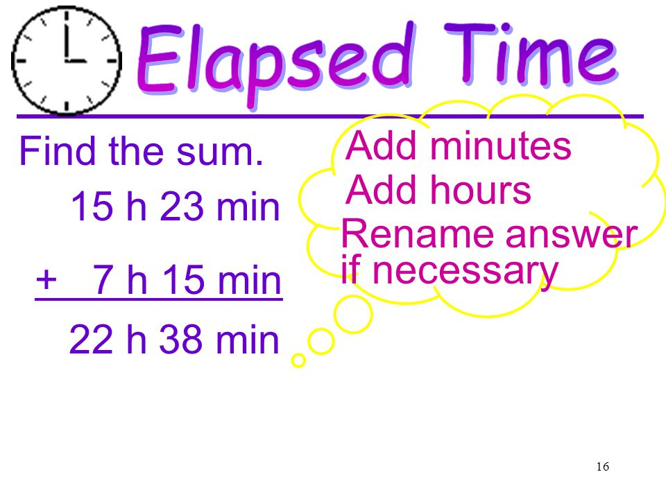 UNITS OF TIME  - ppt download