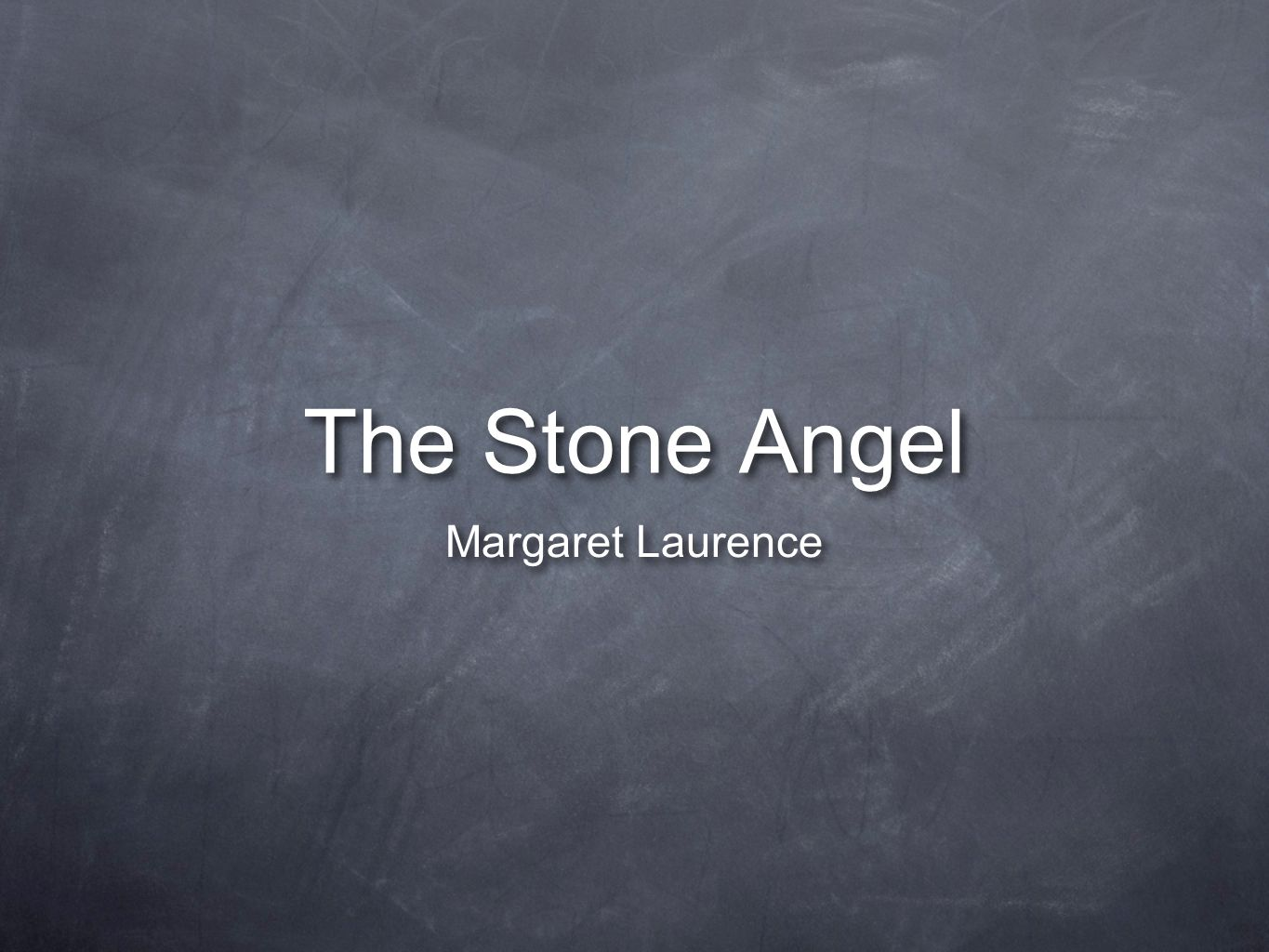 an analysis of the stone angel a novel by margaret laurence Margaret laurence was born jean margaret wemyss in neepawa, manitoba, the daughter of solicitor robert wemyss and verna jean simpson the stone angel, a feature-length film based on laurence's novel, written and directed by kari skogland and starring ellen burstyn premiered in fall.