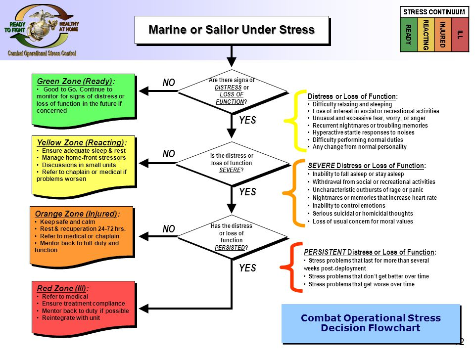 Re Deployment Operational Stress Workshop For Marine Leaders Ppt