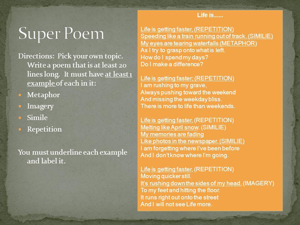 example of haiku poem about life