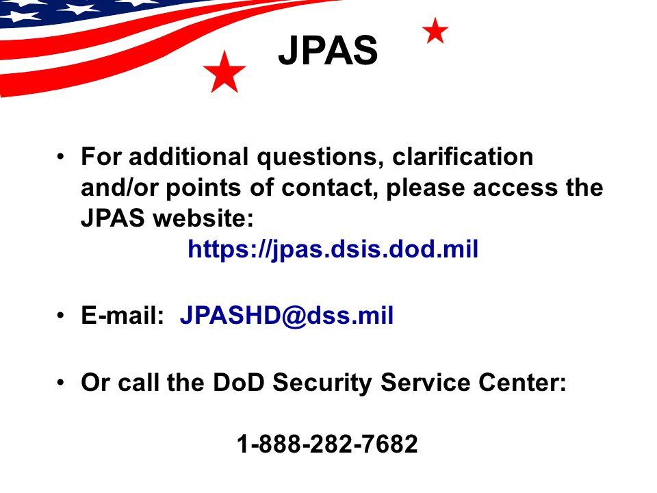 joint personnel adjudication system jpas overview ppt video rh slideplayer com