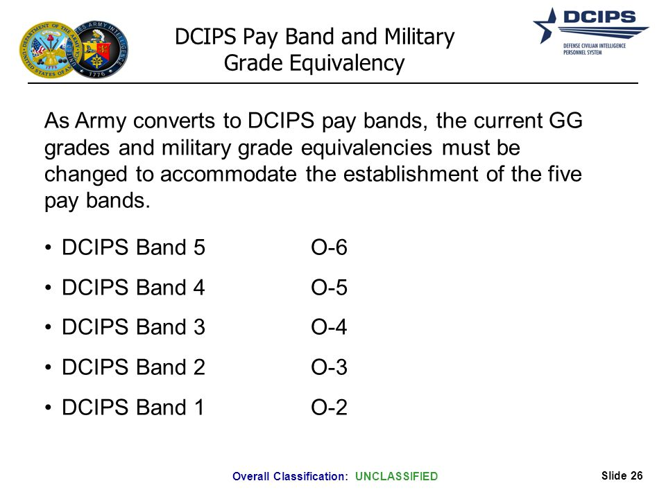 defense civilian intelligence personnel system executive and senior