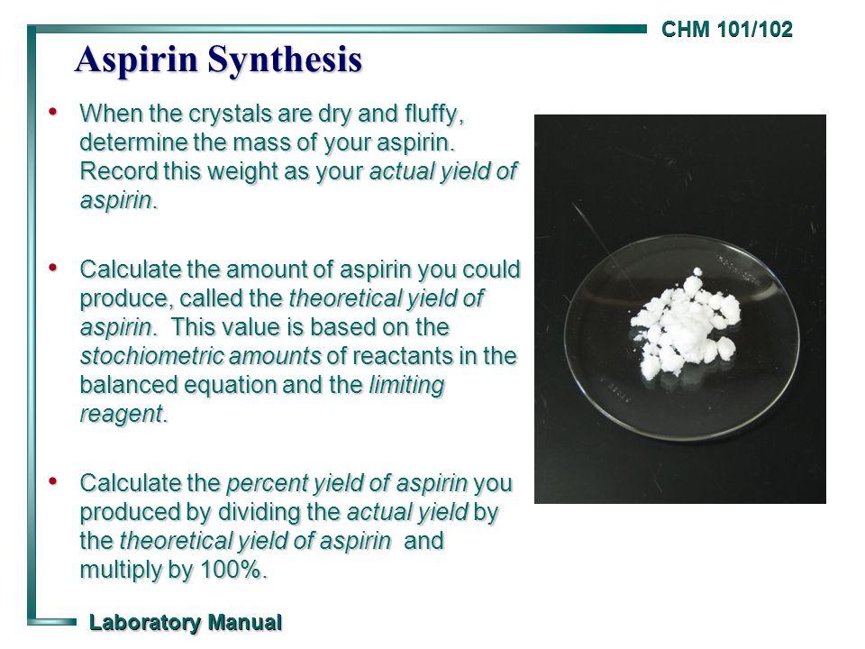how to purify aspirin