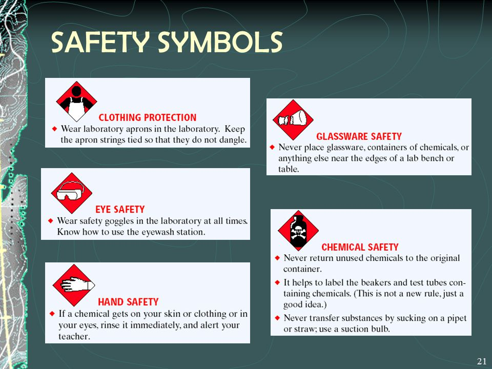 Lab Equipment Safety Chemical Labels Nfpa Hmis Msds Ppt Video